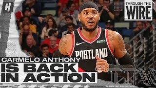 Carmelo Anthony is Back! | Through The Wire Podcast