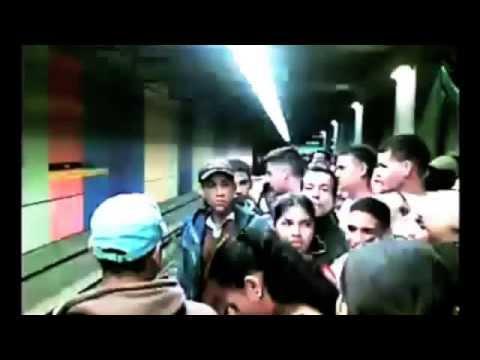 Hora punta en el Metro: Venezuela VS Tokio