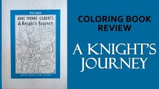 'A Knight's Journey' Coloring book review