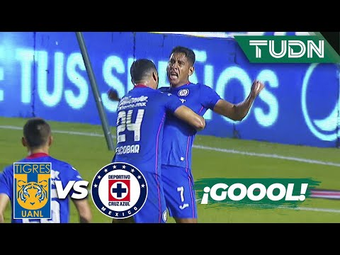 ¡GOOL! ¡Romo clava el tercero! | Tigres 1-3 Cruz Azul | Guard1anes 2020 Liga BBVA MX | TUDN
