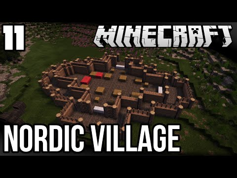 Let's Build a Nordic Village - Ep. 11: Stave Church Foundations