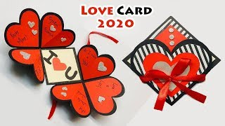 Greeting Cards Latest Design Handmade | I Love You Card Ideas 2019