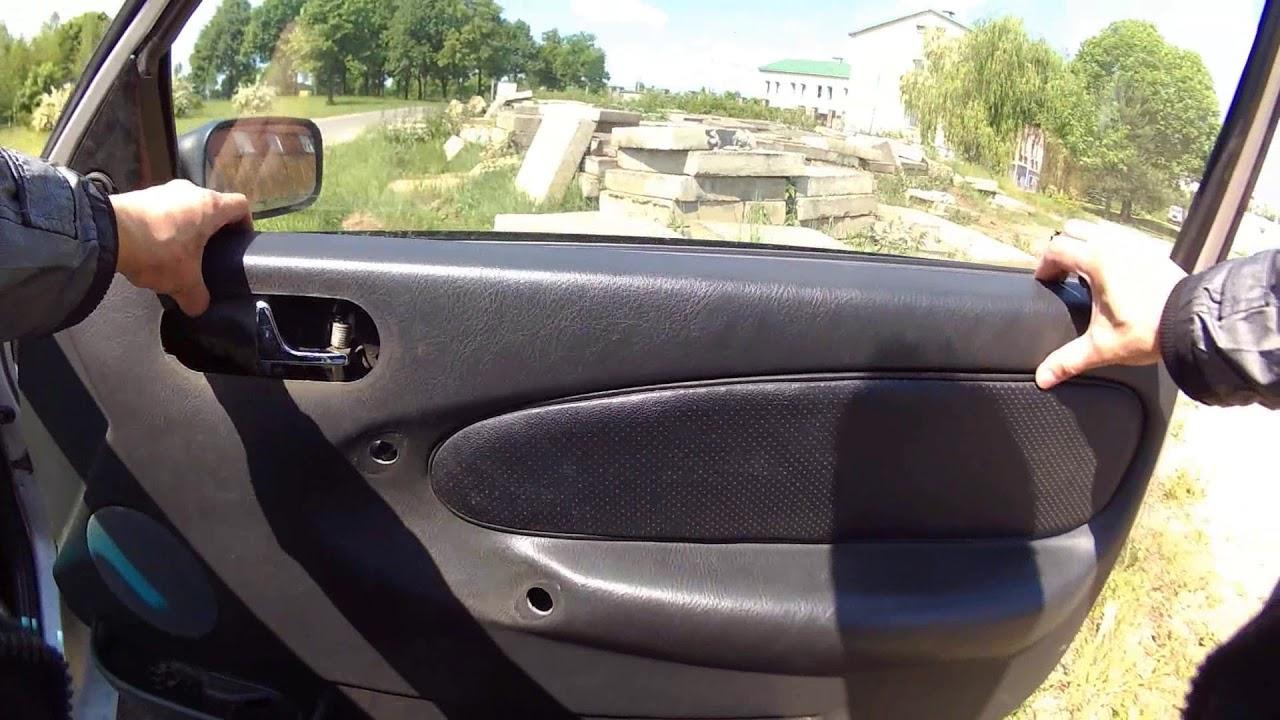 Транспортер снятие обшивки двери как снять стартер с фольксваген транспортер