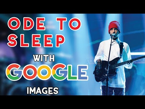 Ode To Sleep but the first image is shown for every word.