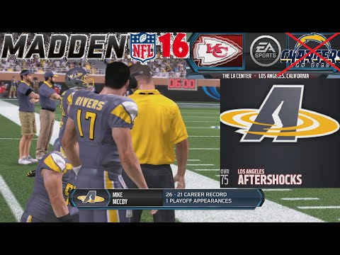 Madden NFL 16 Relocating The Chargers To Los Angeles Xbox