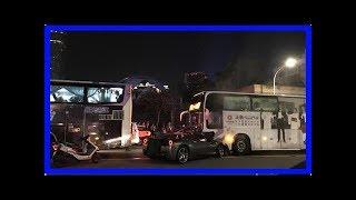 男大生載妹「法拉利撞公車」車頭全毀!1300萬變廢鐵「影片曝光」超療癒!