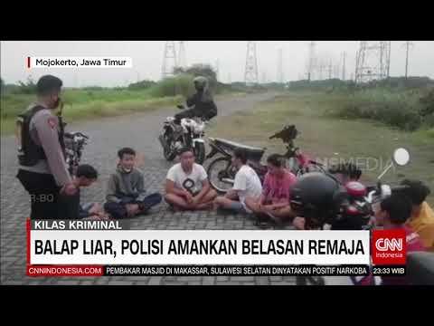 Balap Liar Polisi Amankan Belasan Remaja | REDAKSI MALAM (28/09/21)