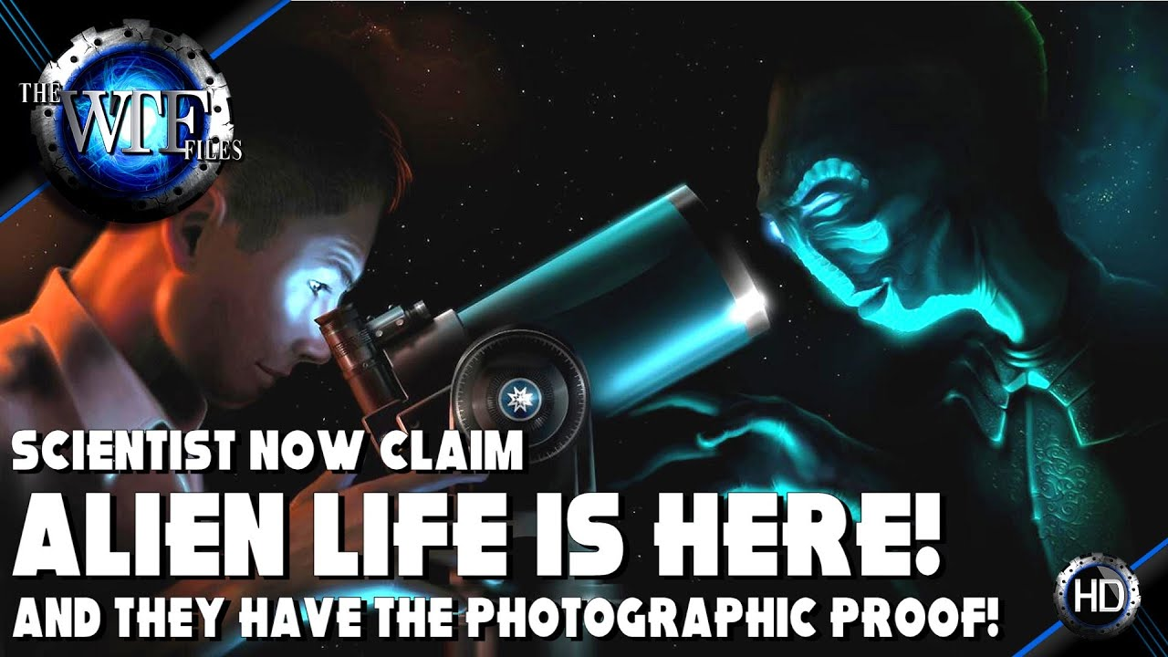 Scientist Now Claim Alien Beings are Already Here on Earth and Have the Photos to Prove it