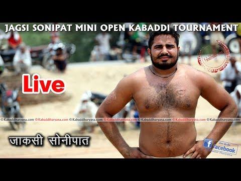 Jagsi Sonipat Kabaddi Tournament Live FINAL || KABADDI HARYANA ||