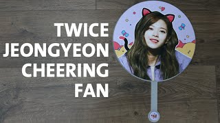 트와이스 TWICE Jeongyeon Cheering Fan by JEONGYEON MOM