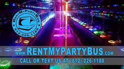 The Black Phantom Party Bus - RentMyPartyBus, Inc.