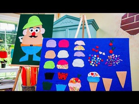Tanya Memme's DIY Felt Board For Kids