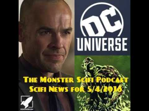 The Monster Scifi Show Podcast - Scifi News for 5/4/2018