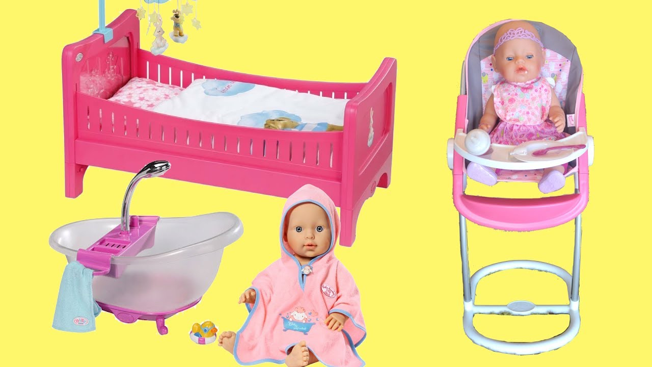 Baby Born Dolls Toy Collection Play Baby Doll Nursery