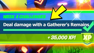 Deal Damage with a Gatherer's Remains (0/10000) - Fortnite
