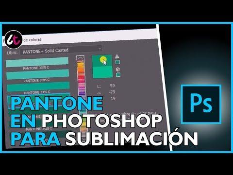 Descargar Video Como aplicar colores PANTONE en PHOTOSHOP para SUBLIMACIÓN ✅✅
