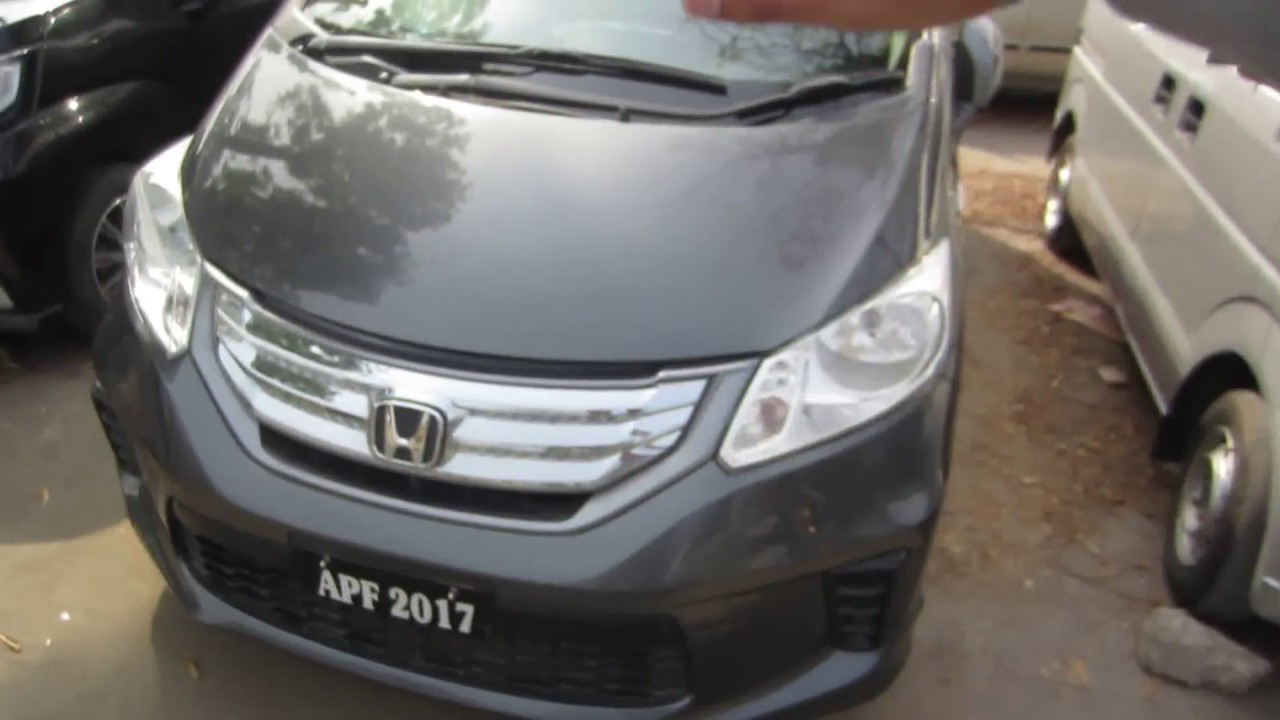 Honda Freed Hybrid 2012 | Complete Review - YouTube