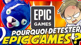 POURQUOI détestez-vous EPIC GAMES ? 🎮 | EDITO