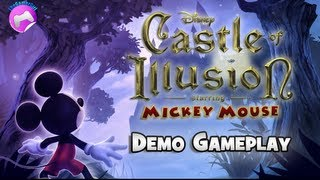 Castle of Illusion starring Mickey Mouse - Demo Gameplay (no commentary)