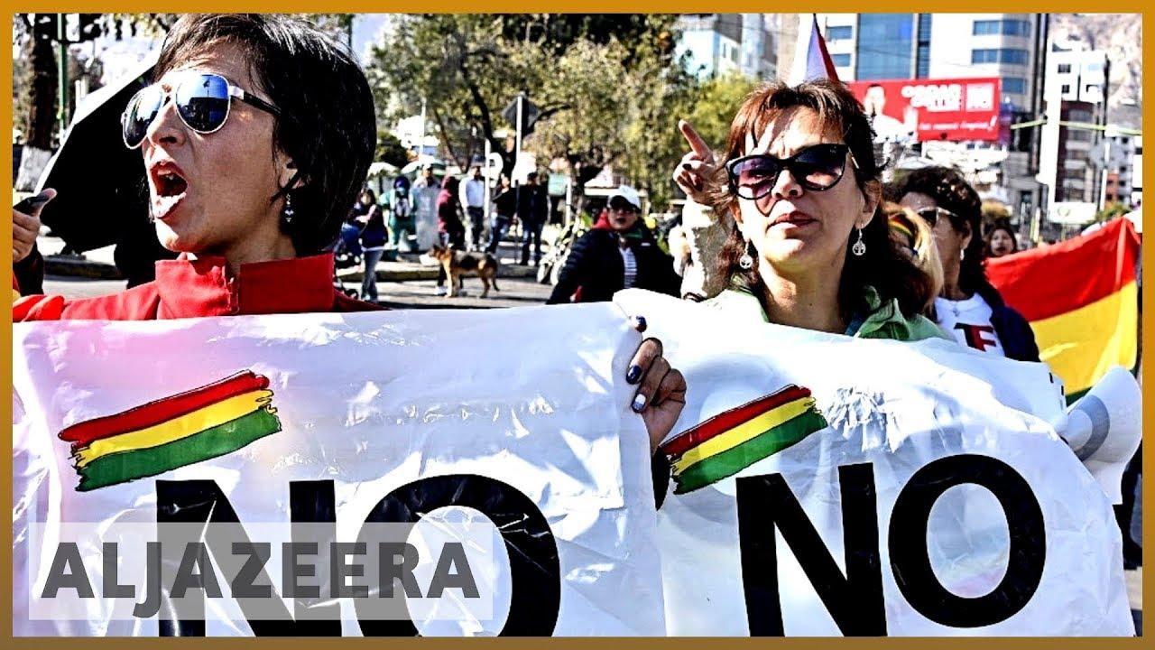 AlJazeera English:Bolivia: Opposition rallies against president's re-election bid
