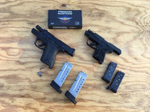 Ruger LCP II vs M&P Shield | Concealed Carry Mash-Up Review