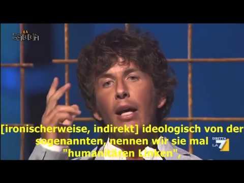 Diego Fusaro, ital. Philosoph:  Die Ursachen der Immigration