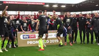 END OF MATCH SCENES | Sheffield United Vs Stoke City
