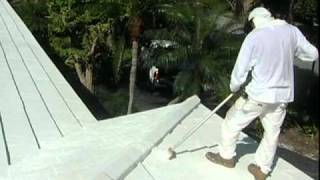 "Hurricane Proof your Roof with Somay ""Roof Mastic"" Sealer and Protector"