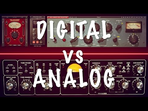 Mixbus - Digital vs Analog
