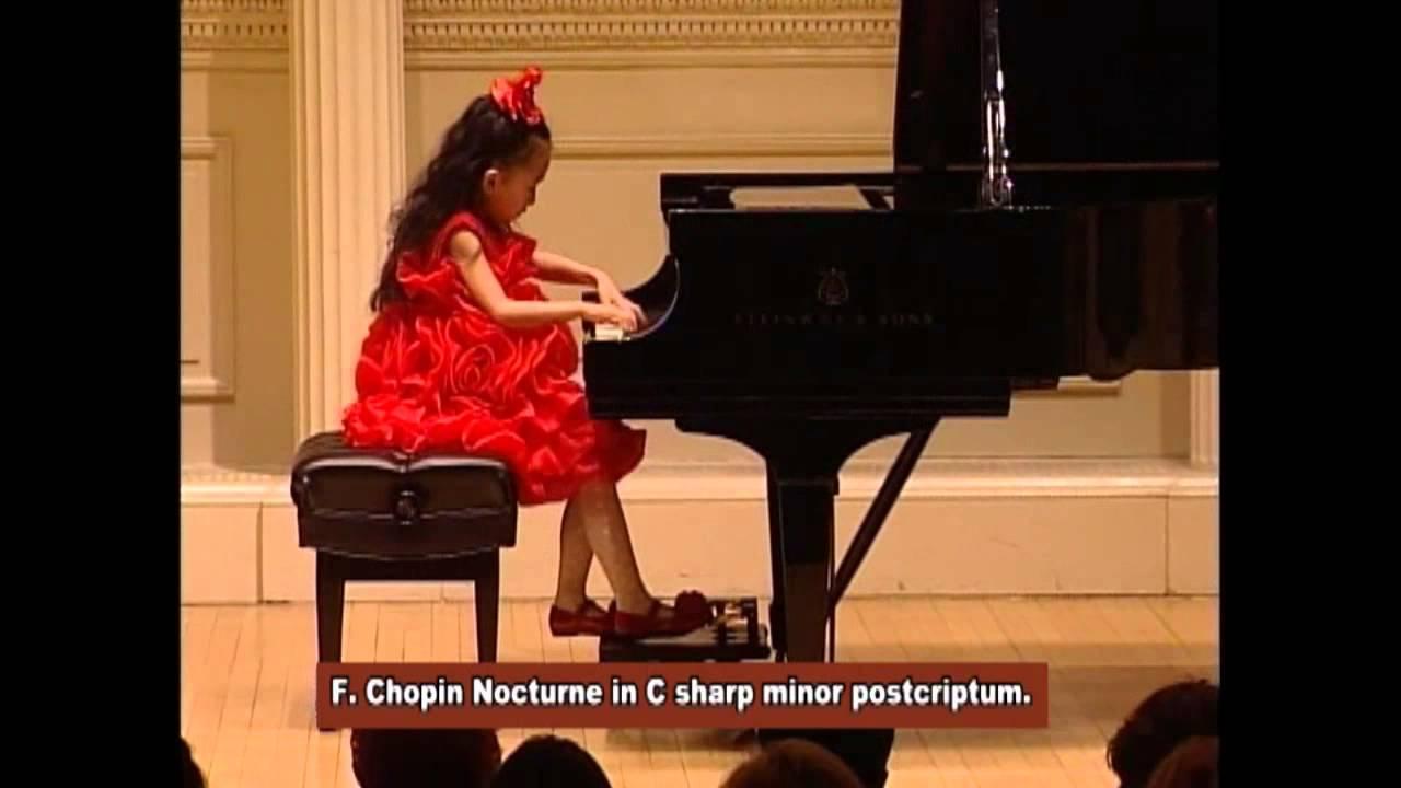 Carnegie Hall, Chopin Nocturne In C