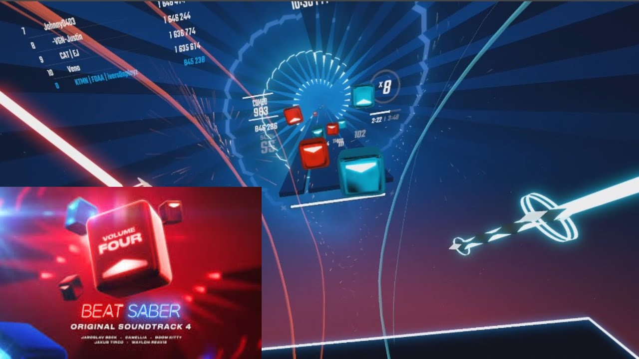 Download Beat Saber - OST 4 ALL SONGS FULL COMBO EXPERT+