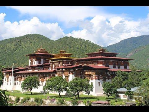 Bhutan Trip 2017  | Punakha Dzong and Rafting in Punakha  | Bhutan.