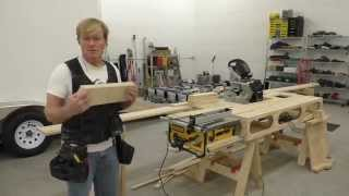 Building A Mobile Woodshop (part 21) Cabinet Production Techniques.