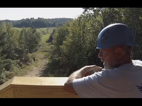 Spencer Valley Zip Lines opens in Redwood, NY