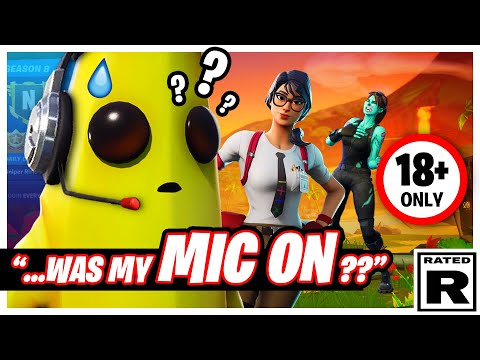 He Forgot To Mute His Mic And THINGS GET SPICY!!! | Funny Fortnite
