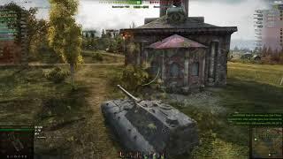 Jagdpanzer E 100 на фугасе класс