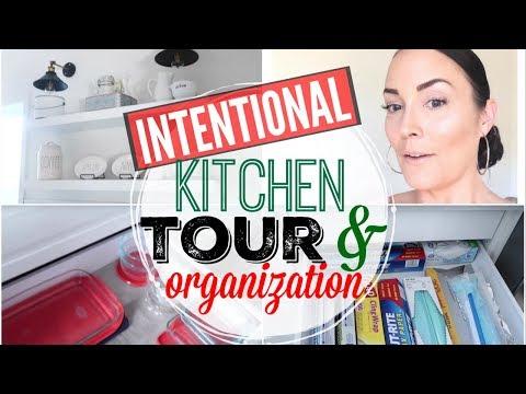 💥FULL KITCHEN TOUR!!! ●  IKEA INTENTIONAL ORGANIZATION ● HACKS + IDEAS + STORAGE ●  HOW TO ORGANIZE