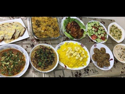 Eid Ul Fitr Day 1 Dawat Preparation For 12 People With Full Recipes Eid Special Biryani , Dhaleem ..