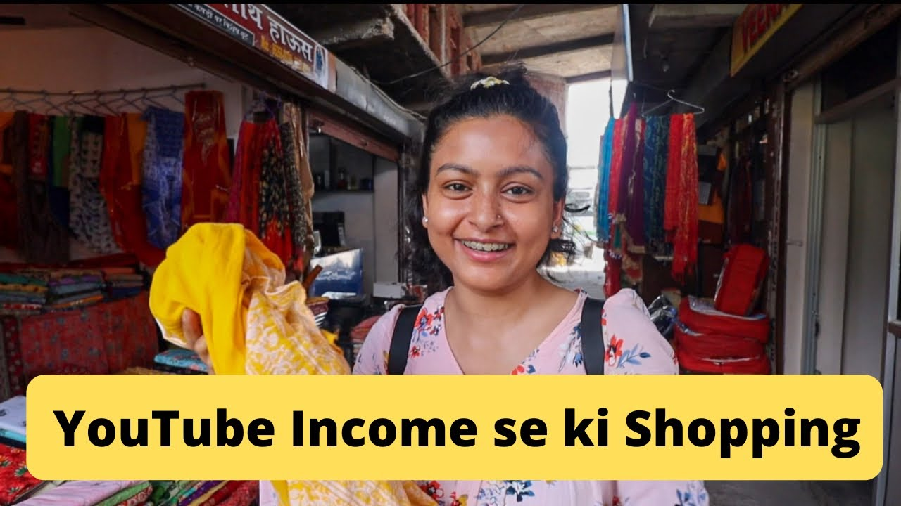 Shopping From My YouTube Money 💰 || Himachal Wali