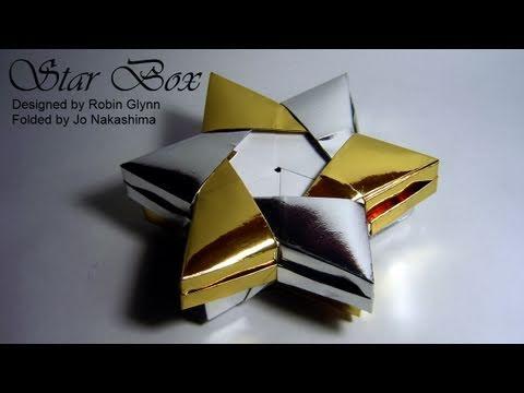 Origami Star Box (Robin Glynn) - Part 1/2 (Base) - YouTube - photo#36
