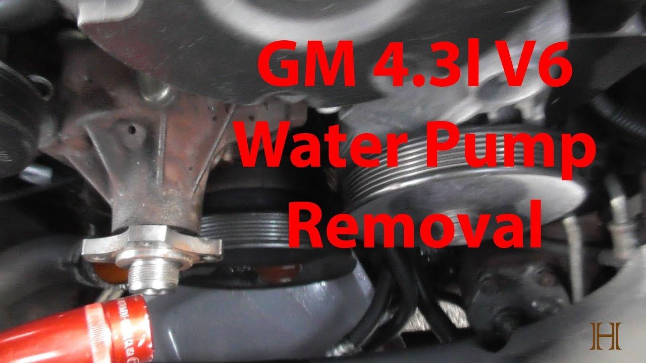 How To Change A Water Pump >> How To Change A Water Pump 2000 Chevy Blazer 4 3l V6 Part 1 Removal