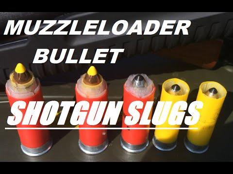 Custom .50 cal Muzzleloader Bullet Shotgun Shells
