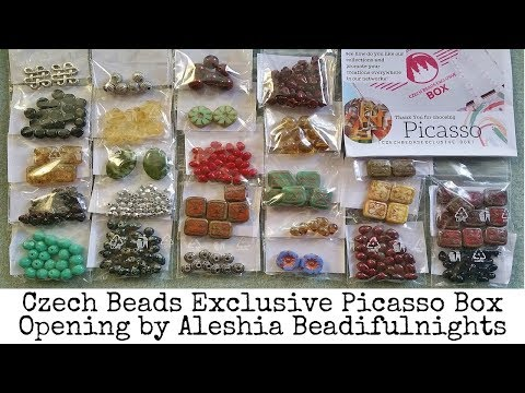 Czech Beads  Exclusive Picasso Box Opening Jan 2019 Mp3