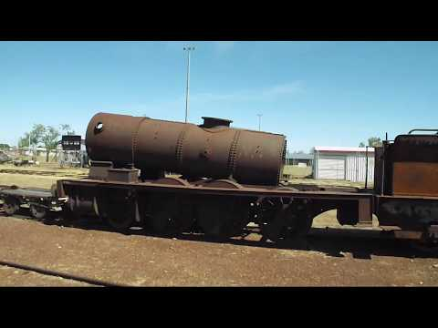 Railway Relics, Operations.& Station Tour Normanton Nth Queensland
