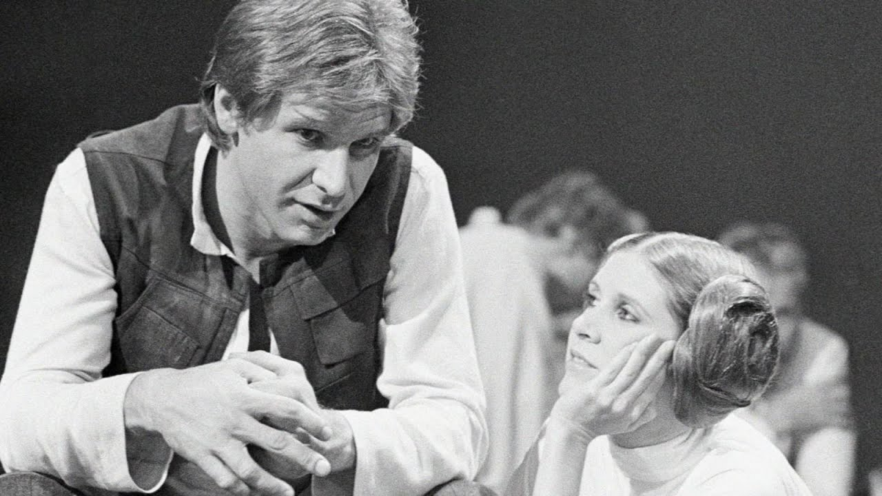 Harrison Ford Carrie Fisher Talk Star Wars Then And Now