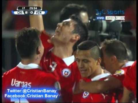 Chile 3 Venezuela 0 (Bio Bio Deportes) Eliminatorias Brasil 2014  (6/9/2013)
