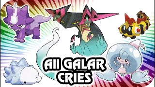 Pokémon Sword & Shield : All Galar Pokémon Cries (HQ)