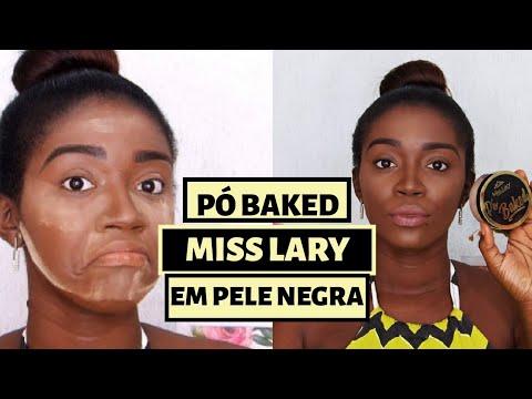 RESENHA PÓ BAKED COR C MISS LARY EM PELE NEGRA - FRANCINE MONTEIRO