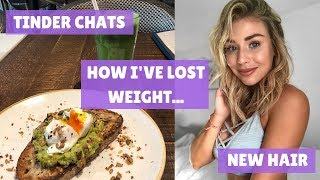 HOW I'VE LOST WEIGHT| PHYSIQUE UPDATE| CHIT CHAT| FINDING MOTIVATION| VLOG