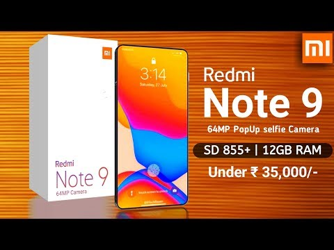 Repeat Redmi Note 9 Snapdragon 855+ first look, Price and